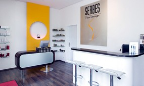 Serbes Haardesign Salon innen
