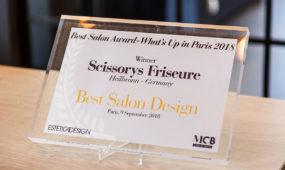 Scissorys Heilbronn - Auszeichnung