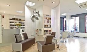Schloberg & Reich Friseur Frankfurt Lounge