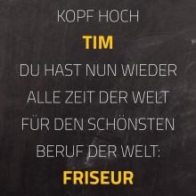 Friseur Tim Niesel