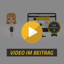 Stellenanzeige schalten - Erklärvideo - Friseur-Job-de