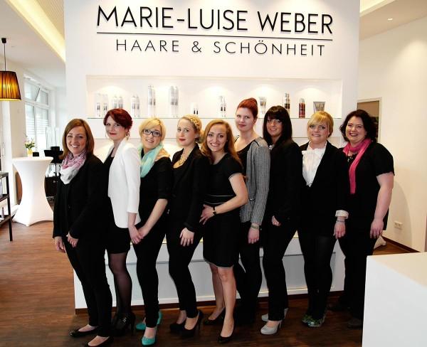 Gruppenbild Team Marie Luise Weber