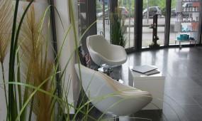 Senses Salon Hair Spa Friseur Hannover Wartebereich