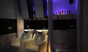 Capello Lounge Dresden Waschplätze