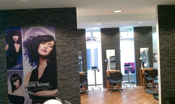 Haarchitektur Salon von innen