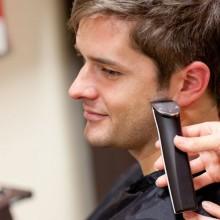 Männlicher Friseurkunde