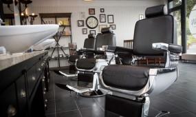 Snip A Man Barbershop Frisierstuhl
