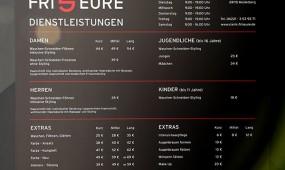 Vianis Friseure Heidelberg Preise