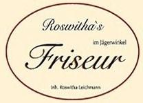 Roswitha Leichmann im Jägerwinkel Salonlogo