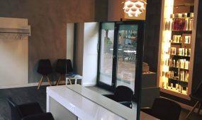 Lusonhair Friseur Schwetzingen Salon innen