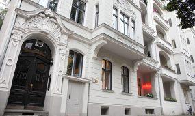 Milans Friseur Berlin Salon aussen