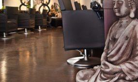 Haarwerkstatt Friseur Köln Salon innen