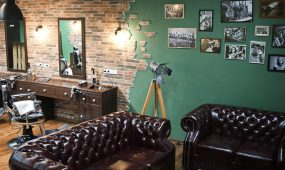 Barbershop in stylishem Ambiente