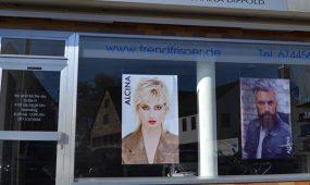 Haarmonie Michaela Dippold Nürnberg Salon aussen