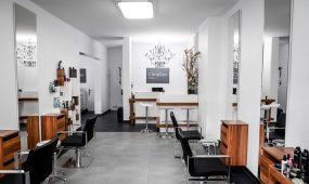 ChrisGeo Friseur München - Salonambiente
