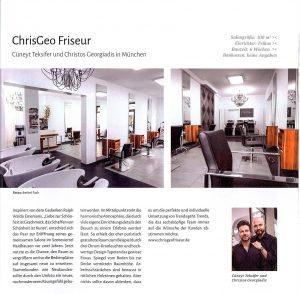 ChrisGeo Friseur München - Stellenanzeige