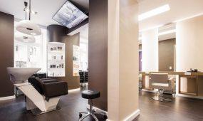 Weselowski Intercoiffure München - Salon innen